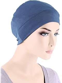 Comfort Cotton Sleep Cap   Headband Chemo Hat Beanie Turban for ... 074ee4f9af6