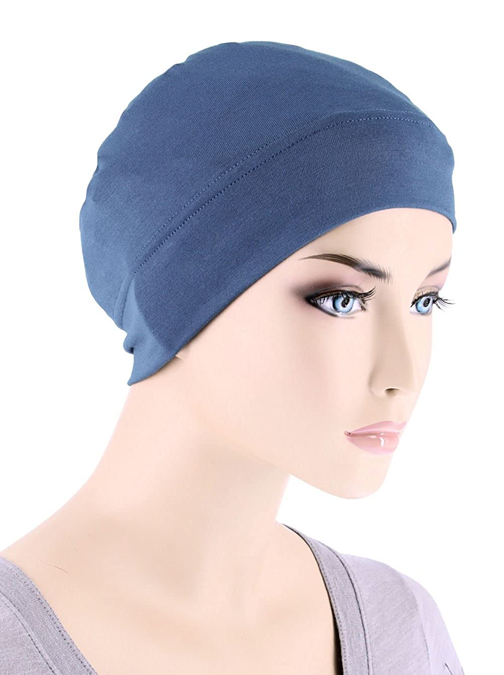 ecd81625078 Made in USA PRODUCT SPECIFICATIONS  Our Comfy Beanie Caps are designed for  chemo patients who are currently experiencing total or partial hair loss.