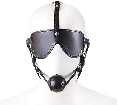 Productos para Adultos Juegos de rol Máscara de Ojos Juego de Tapones Horse Shaped Fun Show SN235 (Size : Black Hard Ball): Amazon.es: Juguetes y juegos
