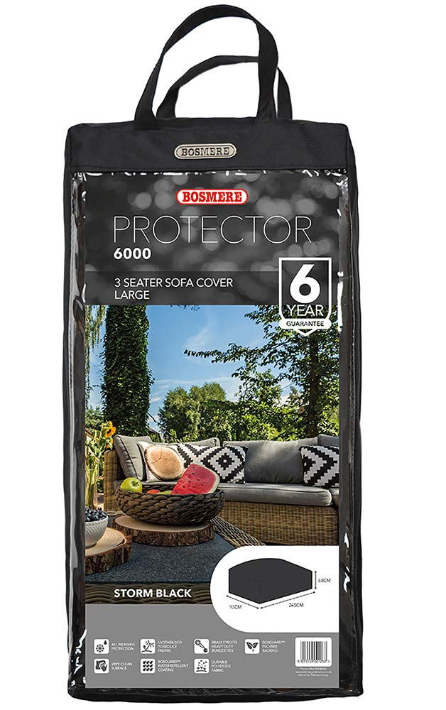 Bosmere M670 - Funda, Color Negro: Amazon.es: Jardín