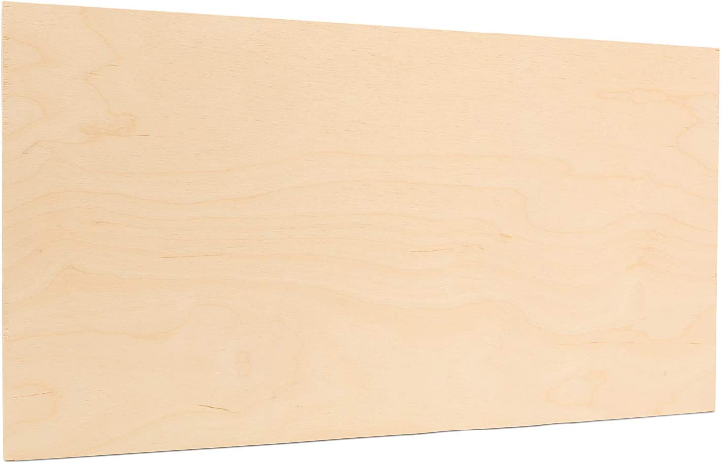 3mm 1/8 x 12 x 20 Inch Premium Baltic Birch Plywood B/BB Grade, Pack of 20 Flat Sheets by Woodpeckers