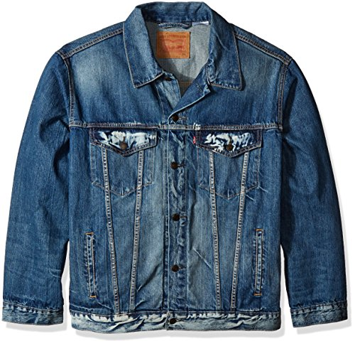 Levis Mens Tall Trucker Jacket