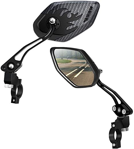 ASEOK Espejos para Bicicletas [Versión Mejorada] Two PCS HD ...