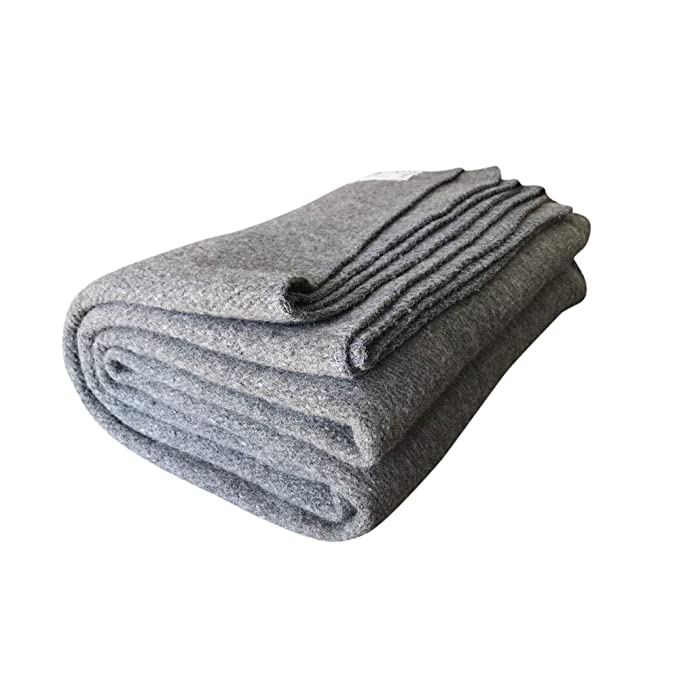 Woolly Mammoth Woolen Merino Wool Blanket - Cheap and Versatile