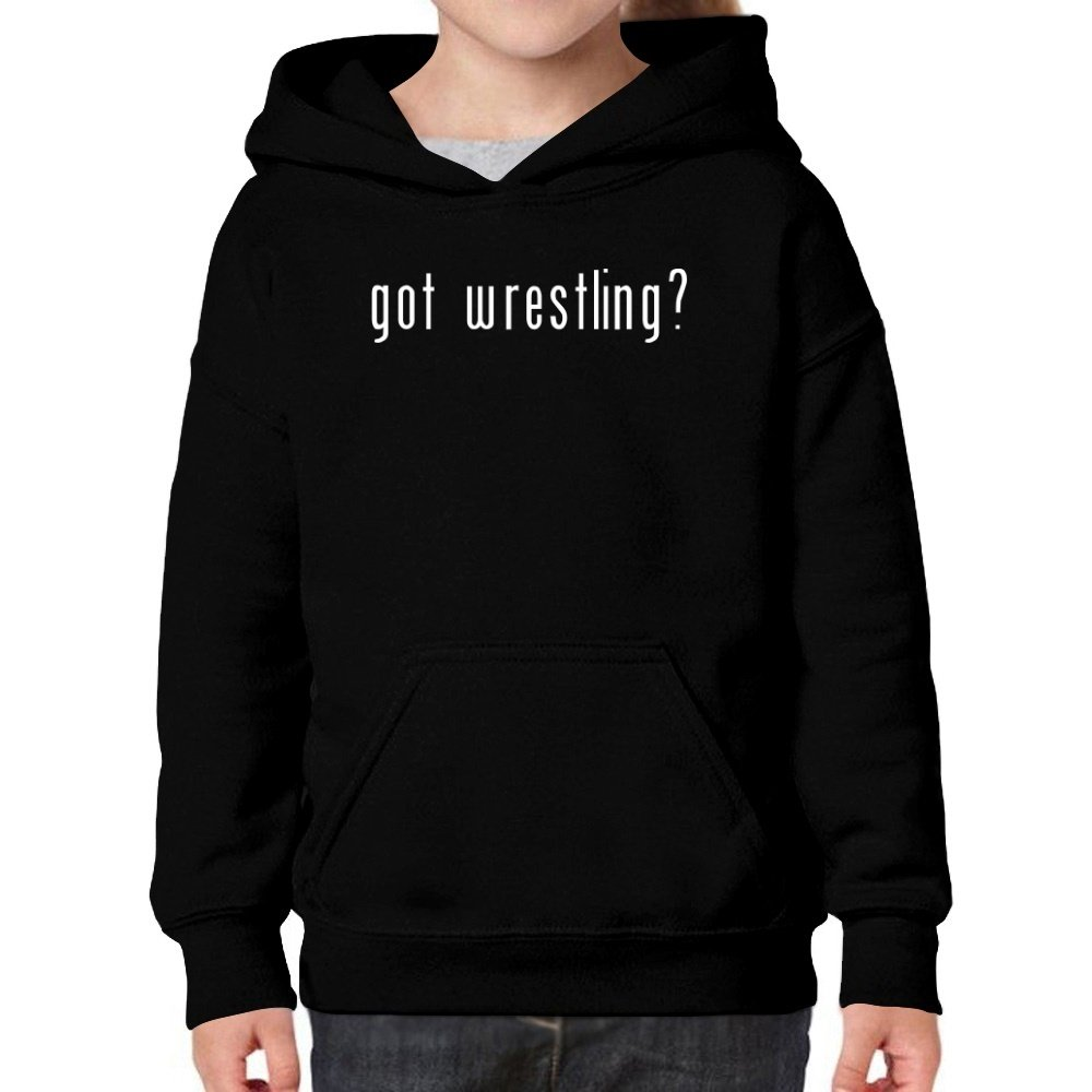 Teeburon Got Wrestling? Girl Hoodie by Teeburon