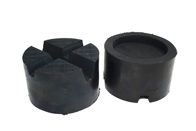 Waffel und Aussparung Gummiauflage f/ür Wagenheber und Hebeb/ühnen addys-onlinesale 85x50mm mit 2xV-Nut