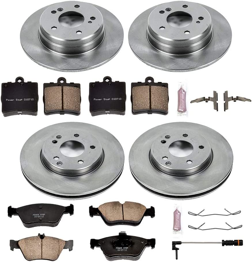 Daily Driver OE Brake Kit KOE4417 Front and Rear Power Stop Autospecialty