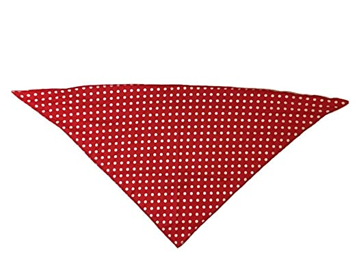 Retro 50s 60s Rockabilly Head scarf polka dot Grease Fancy dress Neck head band