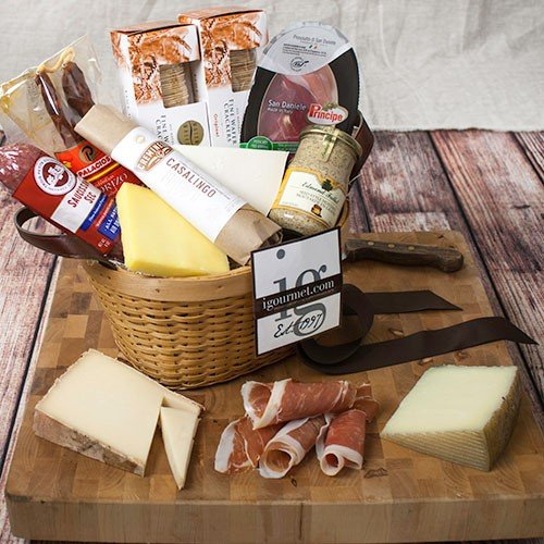 Connoisseur's Meat and Cheese Gift Basket (6 pound) by igourmet