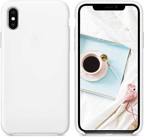Custodia in silicone per iPhone XS - Bianco - Apple (IT)