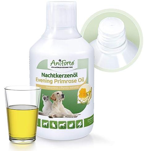 Aceite de Onagra para Perros y Caballos (500ml.) - Suplemento 100% Natural
