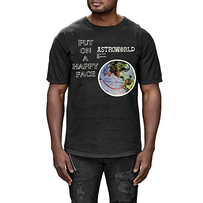 7a7fab9a9ed1 Travis Scott ASTROWORLD LOLLAPOLOZA 2018 T-Shirt Tee AS Worn by Kylie Jenner  (Small