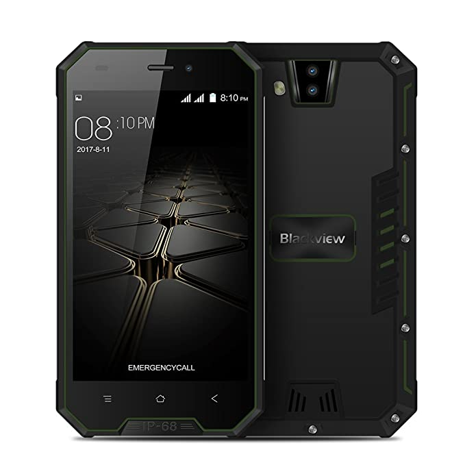3 opinioni per Blackview BV4000 IP68 Smartphone 3G WCDMA Android 7.0 4.7inch MTK6580A Quad-core