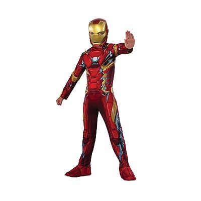Rubie's Costume Captain America: Civil War Value Iron Man Costume, Large: Clothing