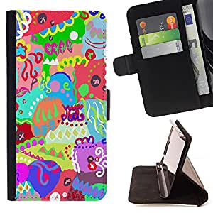Jordan Colourful Shop - FOR Samsung Galaxy Core Prime - Best wishes for you - Leather Case Absorci¨®n cubierta de la caja de alto impacto