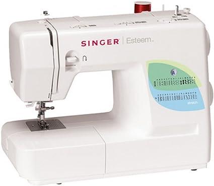 Singer Esteem 1732 máquina de coser de 35 puntadas: Amazon.es: Hogar