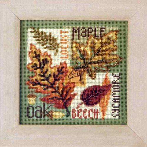 Fall Leaves - Cross Stitch Kit - $17.49