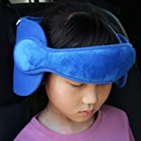 Timall Toddler Car Seat Head Support Neck Pillow Strap Sleep Nap Aid Holder