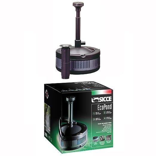 Opinioni per sicce filtro new per laghetto ecopond 2 1350 for Pompa filtro laghetto
