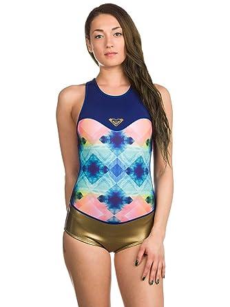 Wetsuit short Women Roxy Pop 1mm RC Bikini Cut Wetsuit  Amazon.co.uk   Clothing 560053d0d