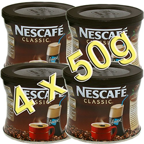 GREEK FRAPPE coffee 4x50 gr NESCAFE Classic 3x50