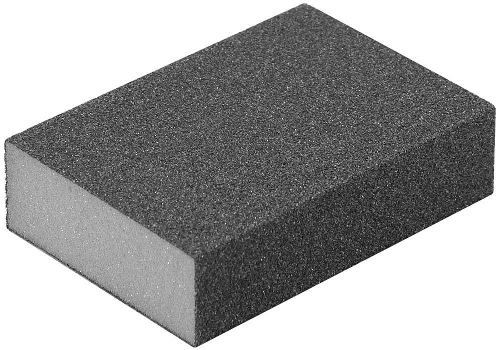 A&H Abrasives 959855, Sanding Accessories, Hand, Sanding Sponge-Medium Block, 10-pack