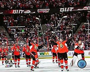 """Ottawa Senators 2017 Playoff Celebration Photo (Size: 8"""" x 10"""")"""