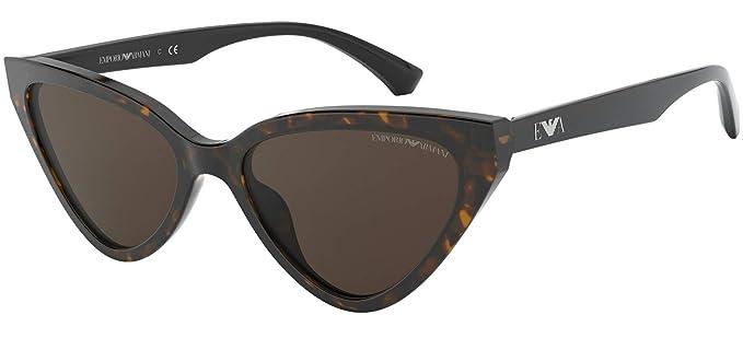 Emporio Armani Gafas de Sol EA 4136 MATTE HAVANA/BROWN 55/18 ...