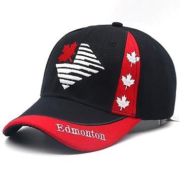 RFVTGB Gorra De Béisbol Canadá Maple Leaf Bordado Gorras De ...