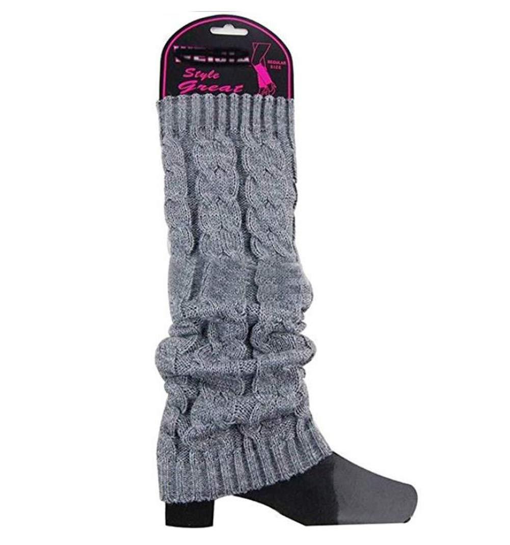 TUPWEL - 1 par de Calcetines de Punto para Mujer, para Invierno ...