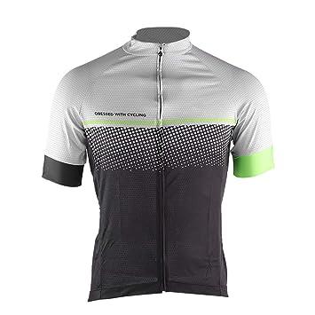 Amazon.com: SolUptanisu - Camiseta de ciclismo de malla de ...