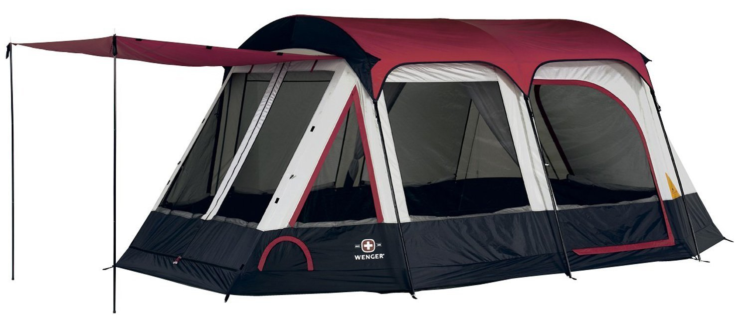 Amazon.com  Wenger Lugano 16- by 10-Foot Two-Room Eight-Person Family Tent with Canopy  Sports u0026 Outdoors  sc 1 st  Amazon.com & Amazon.com : Wenger Lugano 16- by 10-Foot Two-Room Eight-Person ...