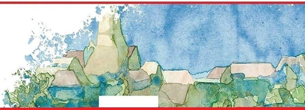 Papel para acuarela mate, 300 g//m/², 30 x 40 cm, 12 hojas Hahnem/ühle Britannia