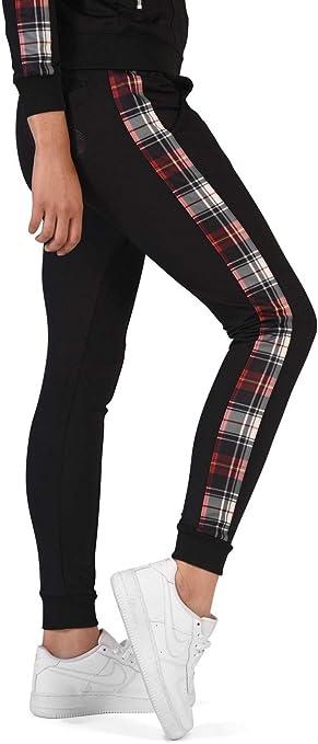 Project X Paris – Pantalón de chándal para Mujer, Negro, X-Large ...