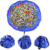 Urbancolor Drawstring Toy Storage Bag For Baby and Kids Toys Organizer Quick Toy Mat, Portable &Waterproof, 61Inch