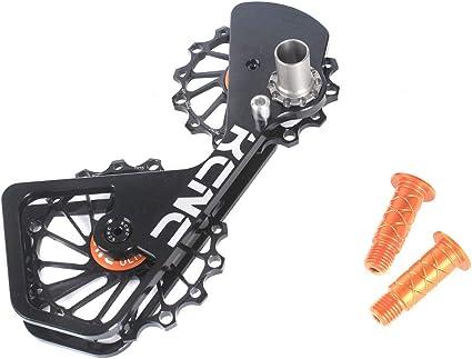 Black KCNC AL7075 14T+16T Jockey Wheel System For Shimano 10S//11S