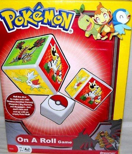 Pokemon On A Roll Game, Giratina, Shaymin & Regigigas, Red Box ()