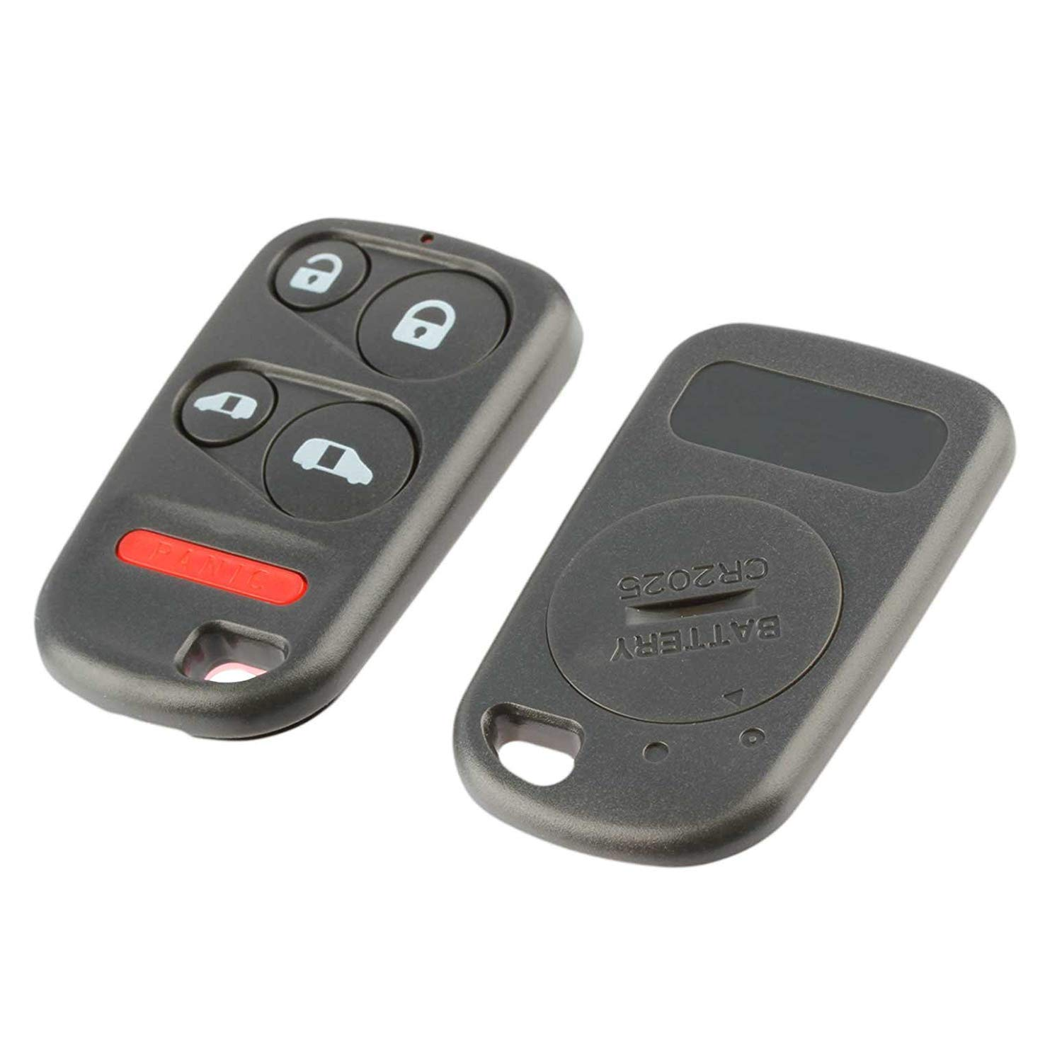 Shell Case /& Pad fits 1999 2000 2001 2002 2003 2004 Honda Odyssey Key Fob Keyless Entry Remote USARemote OUCG8D-440H-A, E4EG8DN