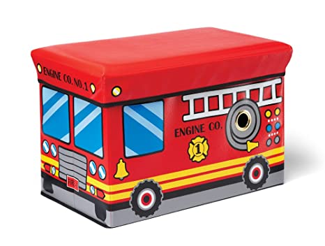 Ordinaire Kidoozie Fire Engine Toy Box