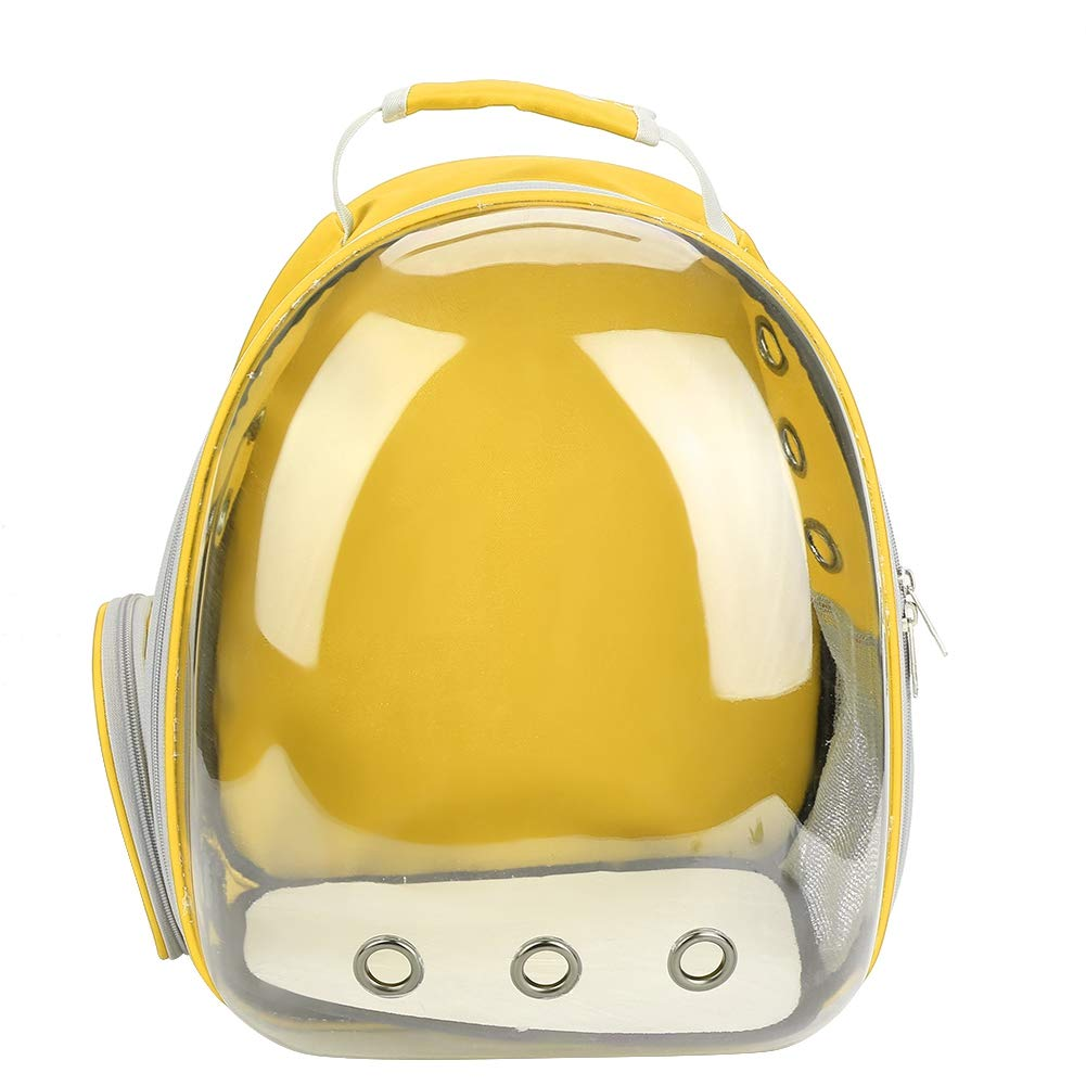 Fdit Pet Cat Backpack Capsule Space Bubble Dome Carrier Cage Transparent Breathable Portable Carrying Bag 1Pc