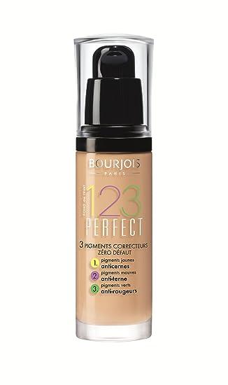 Amazon.com : Bourjois 123 Perfect Foundation - 53 Light Beige (30ml) : Foundation Makeup : Beauty