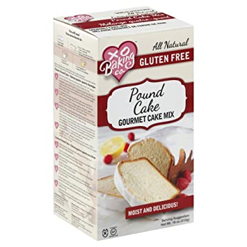 Xo Baking Gluten Free Pound Cake Mix 18oz Pack Of 6