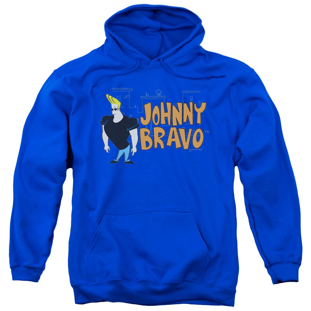Trevco Johnny bravo-johnny logo hoodie für Herren