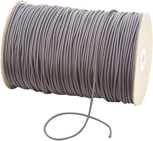 Elastikkordel 3mm zum N/ähen Elastigoni 10 Meter wei/ß elastische Gummikordel 3mm elastisches Seil f/ür Basteln Schmuck Kleidung N/ähzubeh/ör Gummiband Rund Schnur