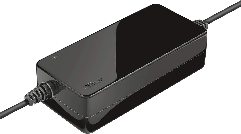 Trust Xumo - Cargador Universal para Ordenador portátil de 90 W, Color Negro