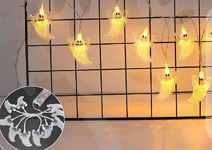 Ghope 10er led luce catena fantasma carnevale halloween luci