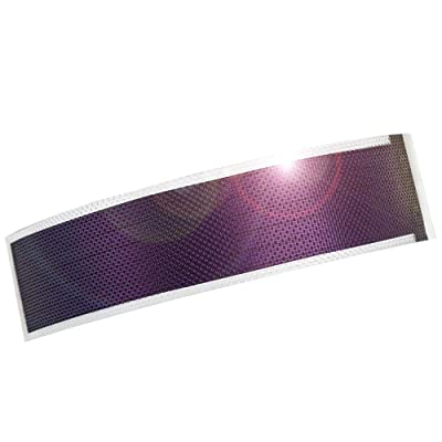 JIANG Small Flexible Thin Film Solar Power Panel Cells DIY boondocking ETFE photovoltaic 0.3W1.5V 240ma (Translucent)