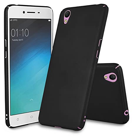 new concept fdd54 af3bd Parallel Universe Oppo A37 Back Cover Case Matte Finish All Sides  Protection Hard PC backcover- Black