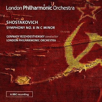 Shostakovich: Symphony No. 8 (Gennady Rozhdestvensky, London Philharmonic Orchestra) (LPO : LPO-0069) by London Philharmonic Orchestra (2013-04-25)