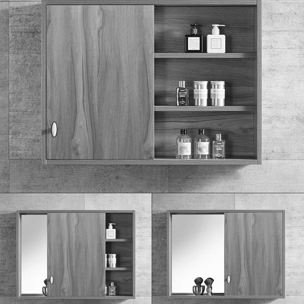 Mueble Espejo de baño con Puerta Puerta Individual Mueble Espejo ...